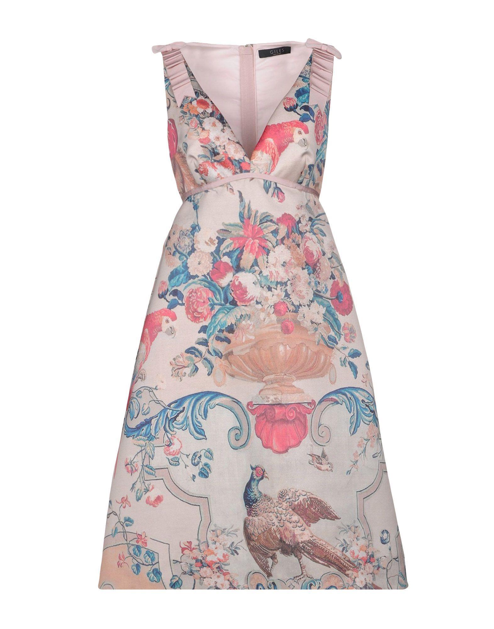 Giles Knee-length Dresses In Light Pink