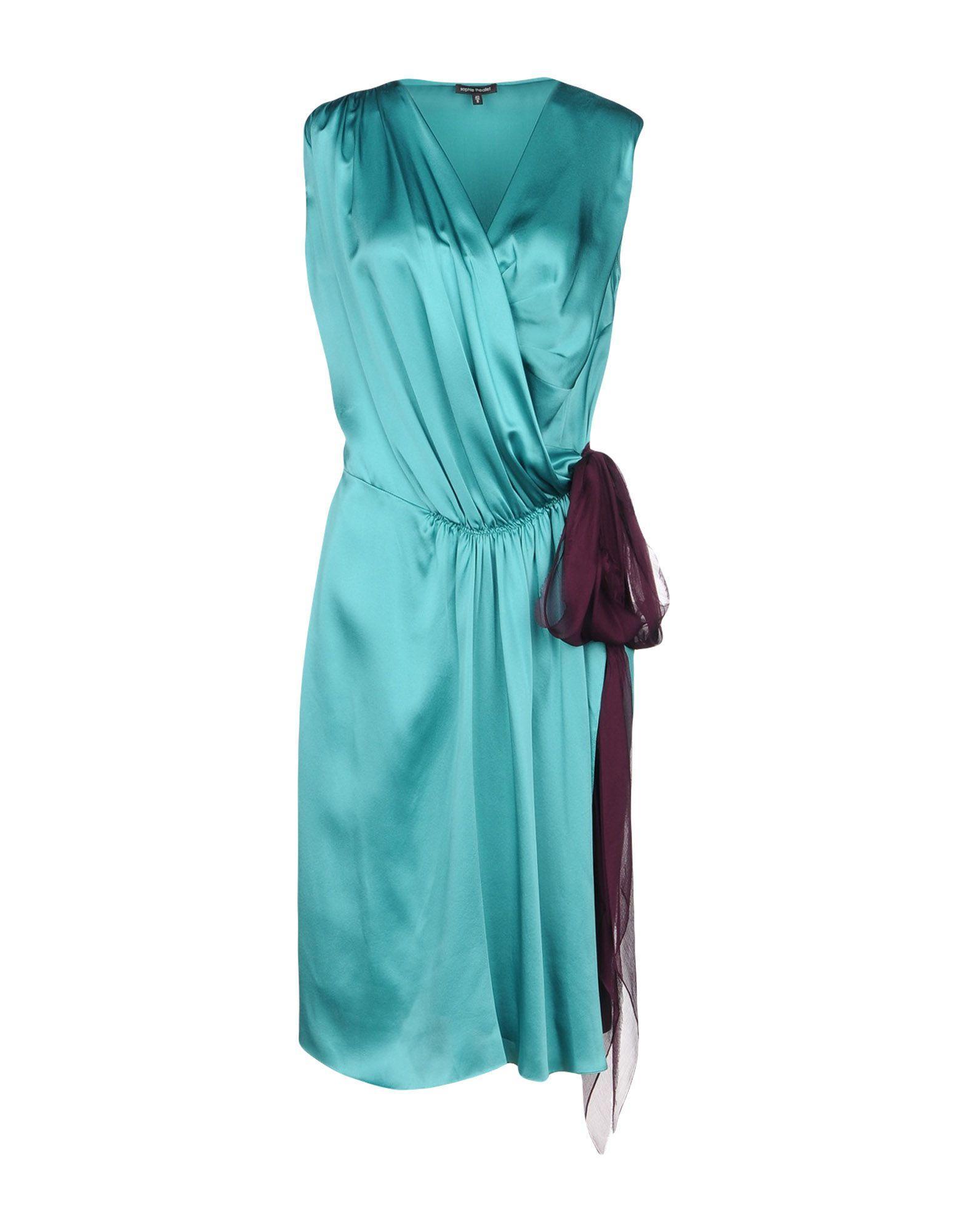 Sophie Theallet Knee-Length Dress In Green