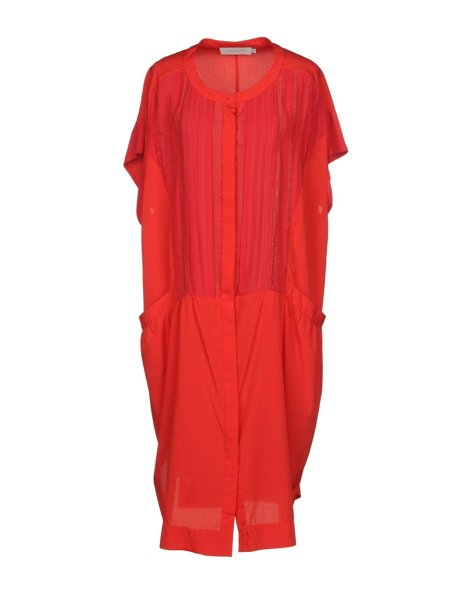 Preen Line Knee-length Dresses In Red