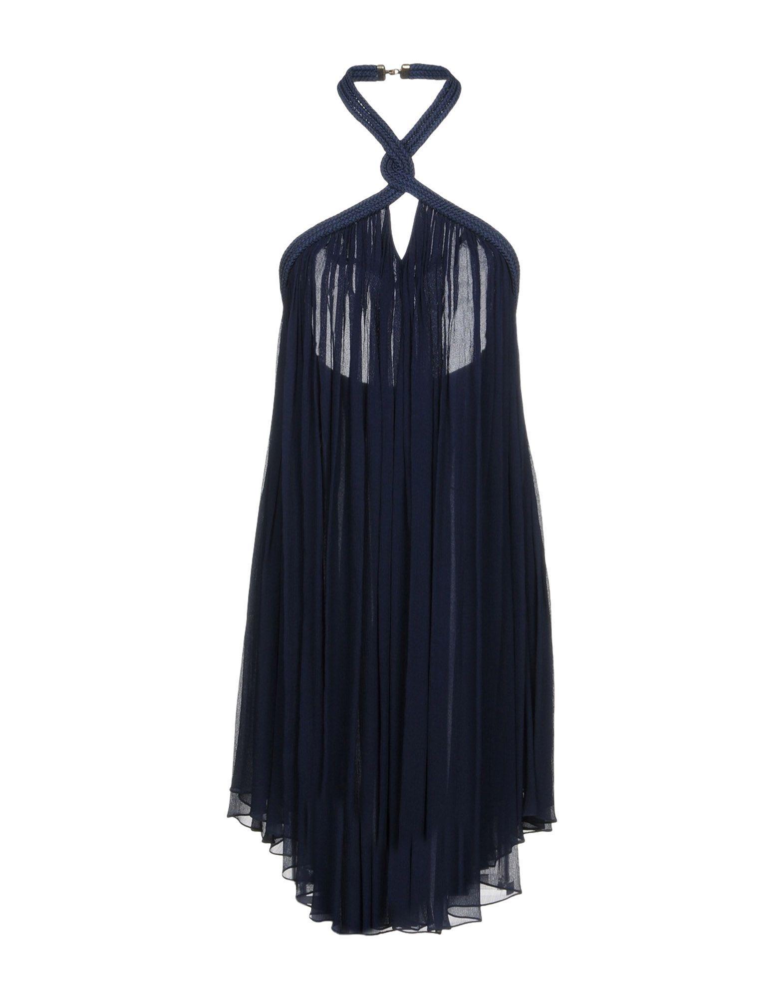 Jay Ahr Knee-length Dresses In Dark Blue