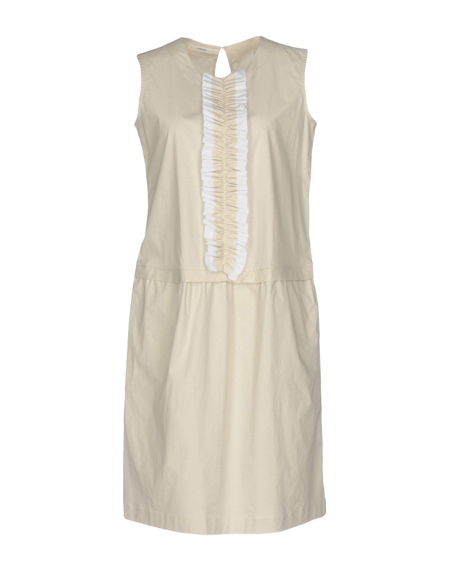 Lareida Knee-length Dresses In Beige
