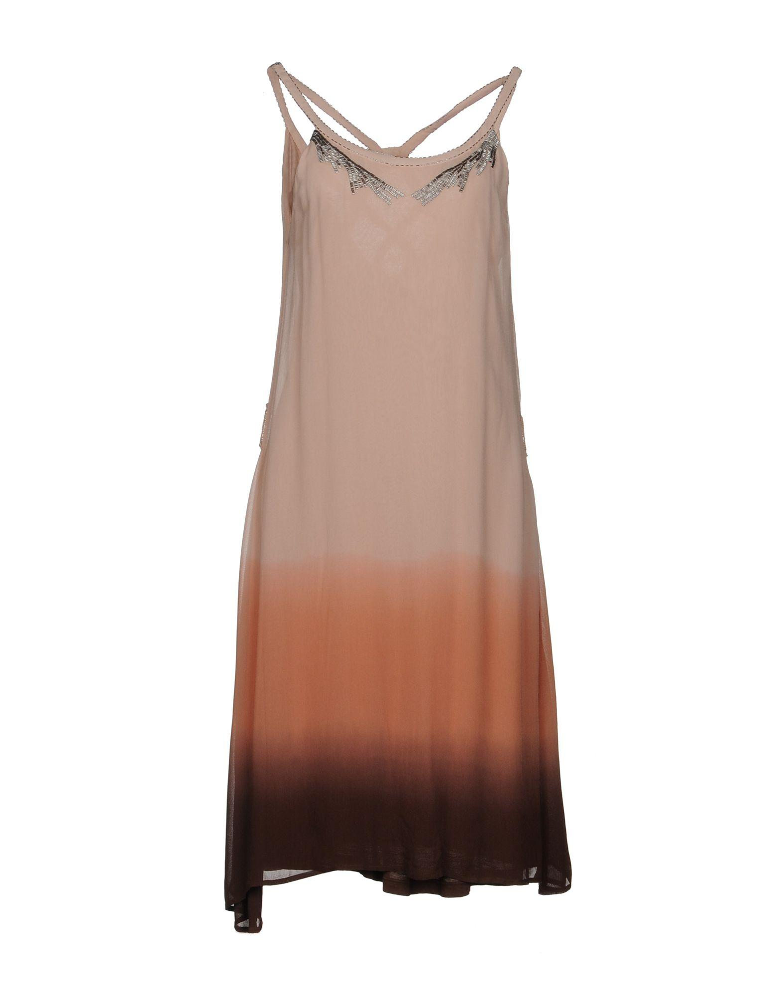 Guess Knee-length Dress In Pale Pink