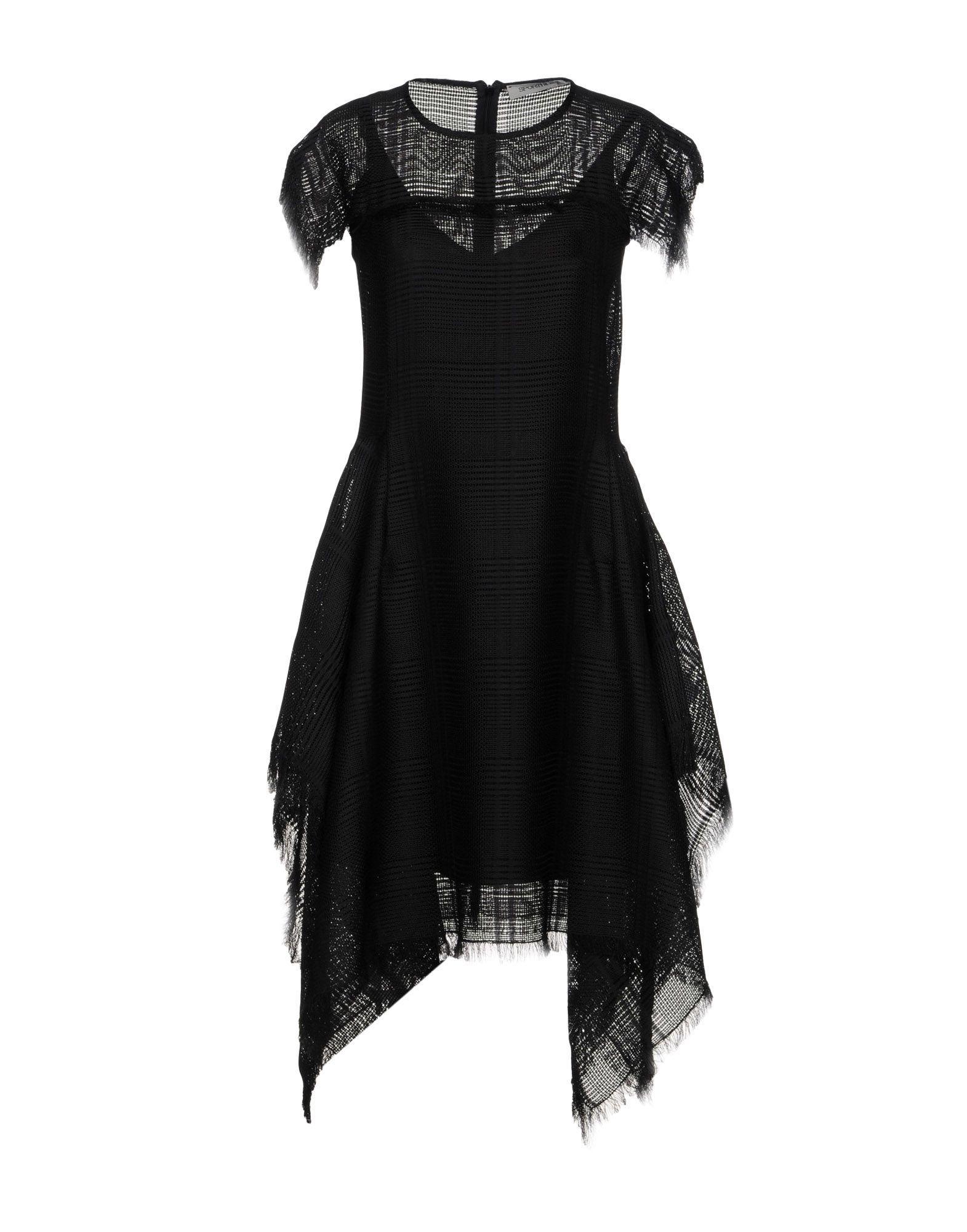 Sportmax Knee-length Dresses In Black