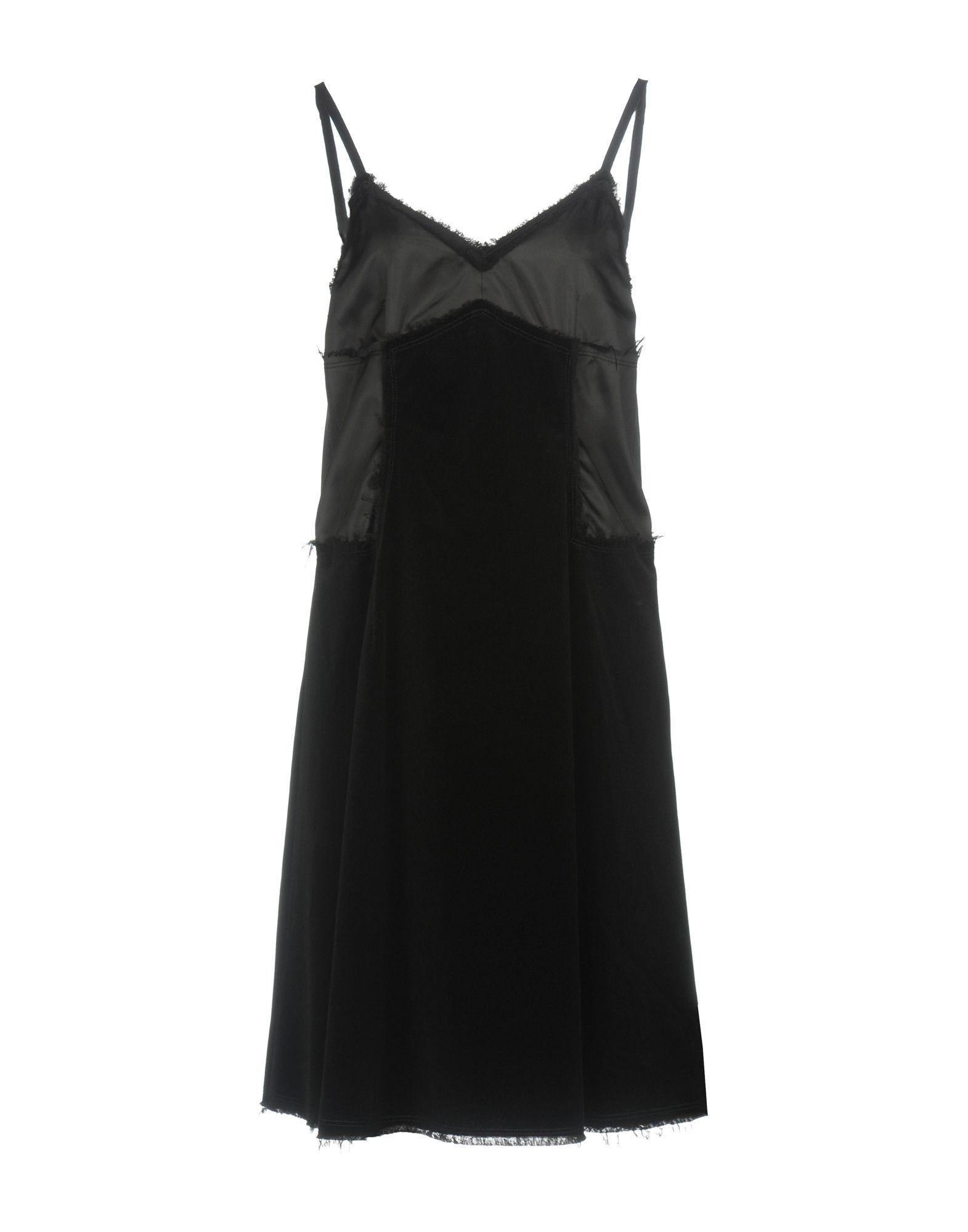 Mm6 Maison Margiela Knee-length Dresses In Black