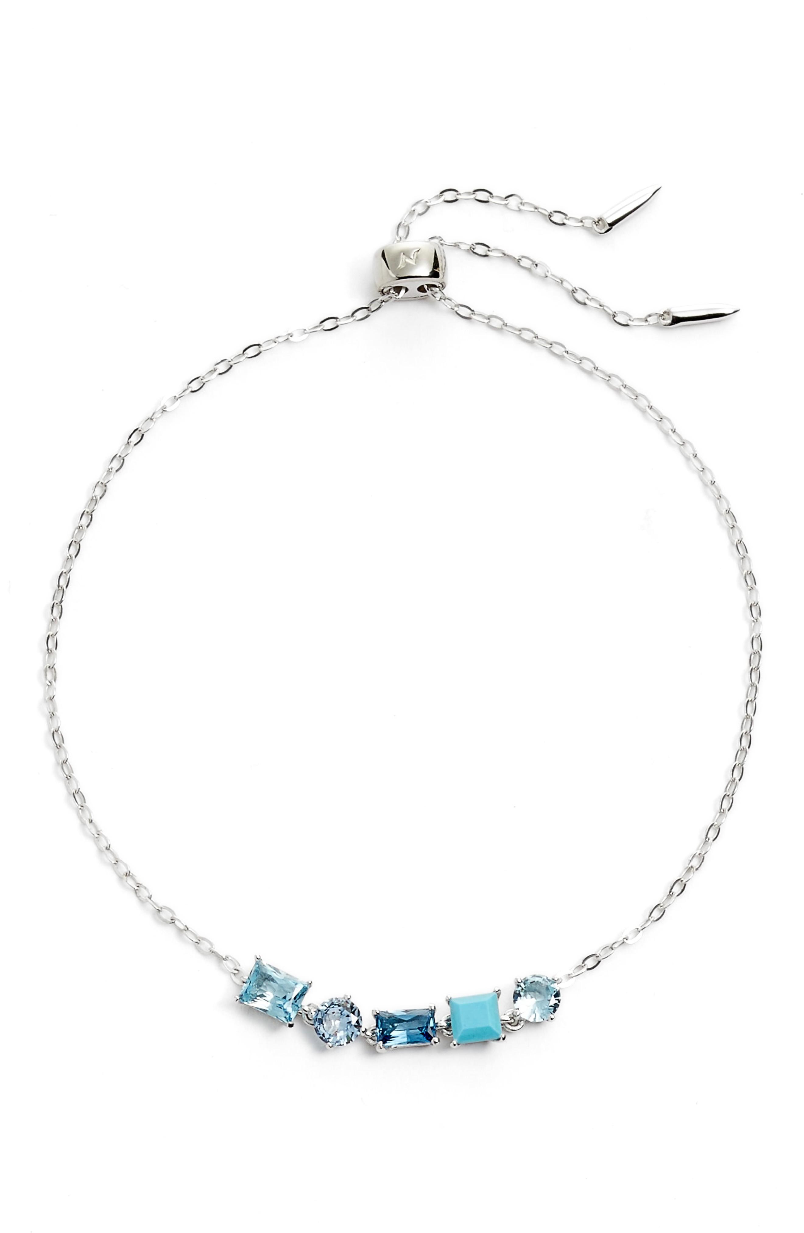 Nadri Cubic Zirconia Bracelet In Silver