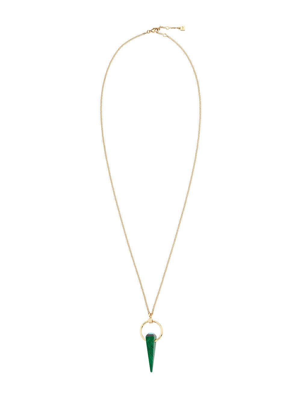Fendi Rainbow Pendant Necklace