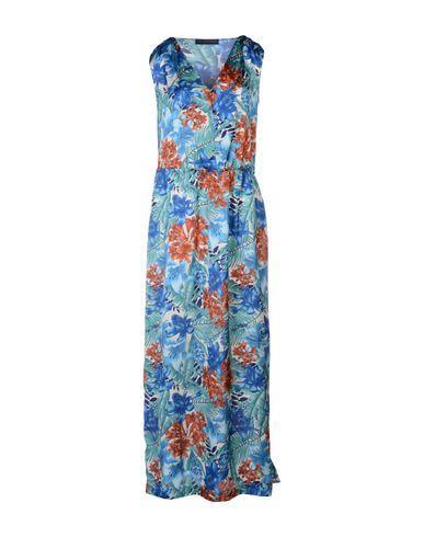 Tru Trussardi Long Dresses In Azure