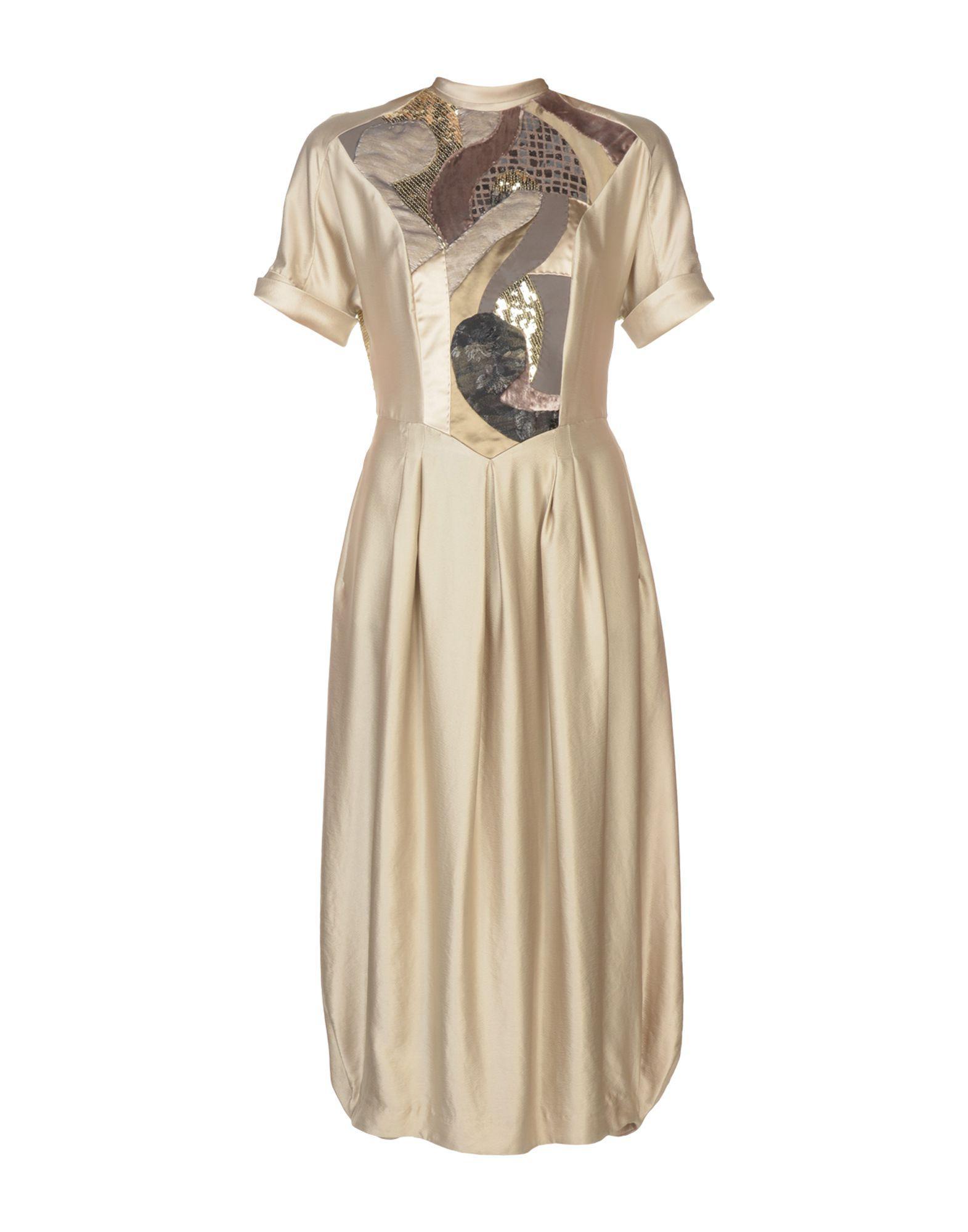 Antonio Marras Formal Dress In Beige