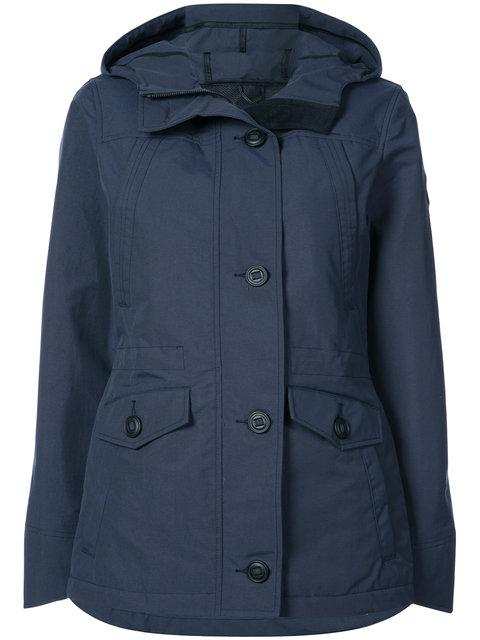 Canada Goose Buttoned Hooded Jacket