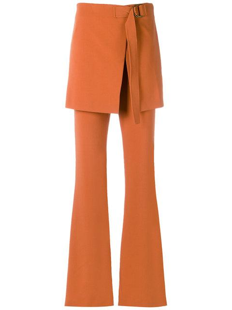 Talie Nk Flared Trousers - Yellow