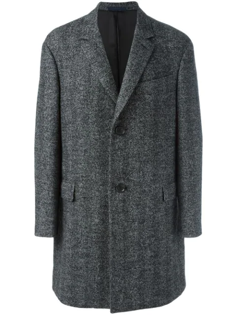 Lanvin Long Sleeved Overcoat - Grey