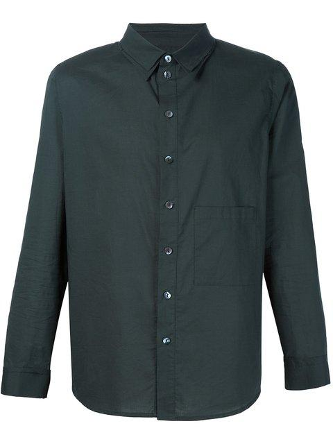 By Walid Chest Pocket Shirt - Black