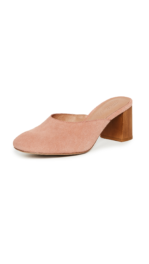 Madewell Tabitha Mules In Old Rose