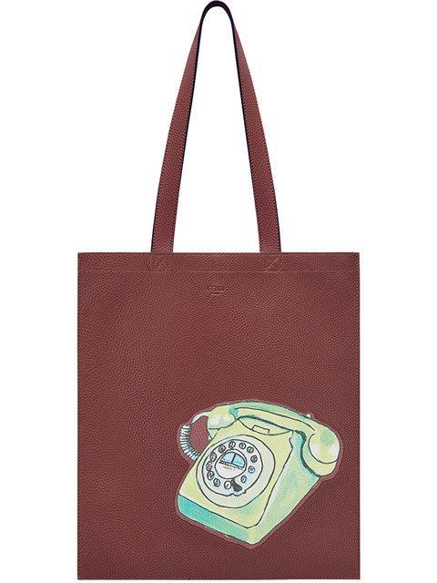 Fendi Printed Tote Bag