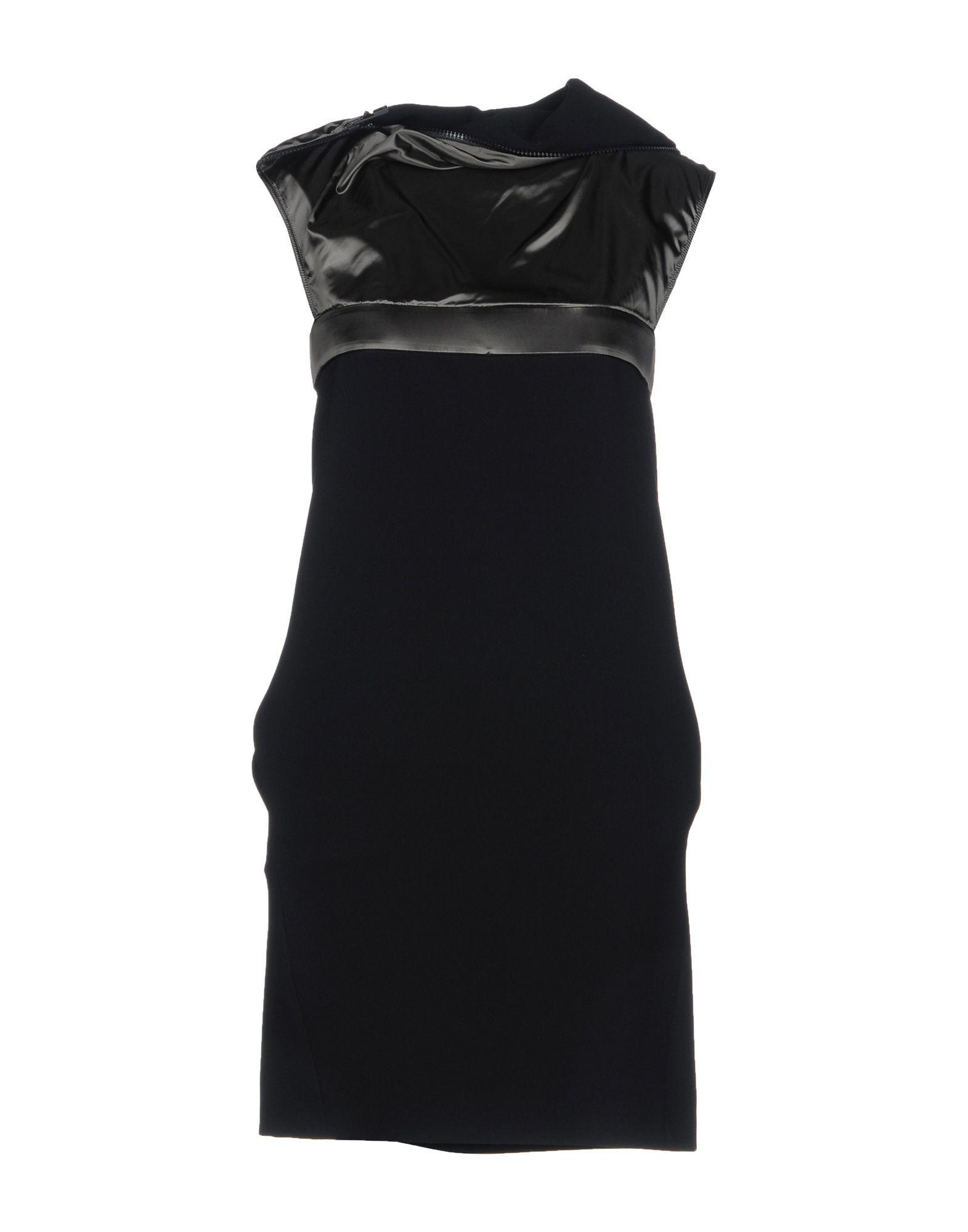 Paco Rabanne Short Dresses In Black