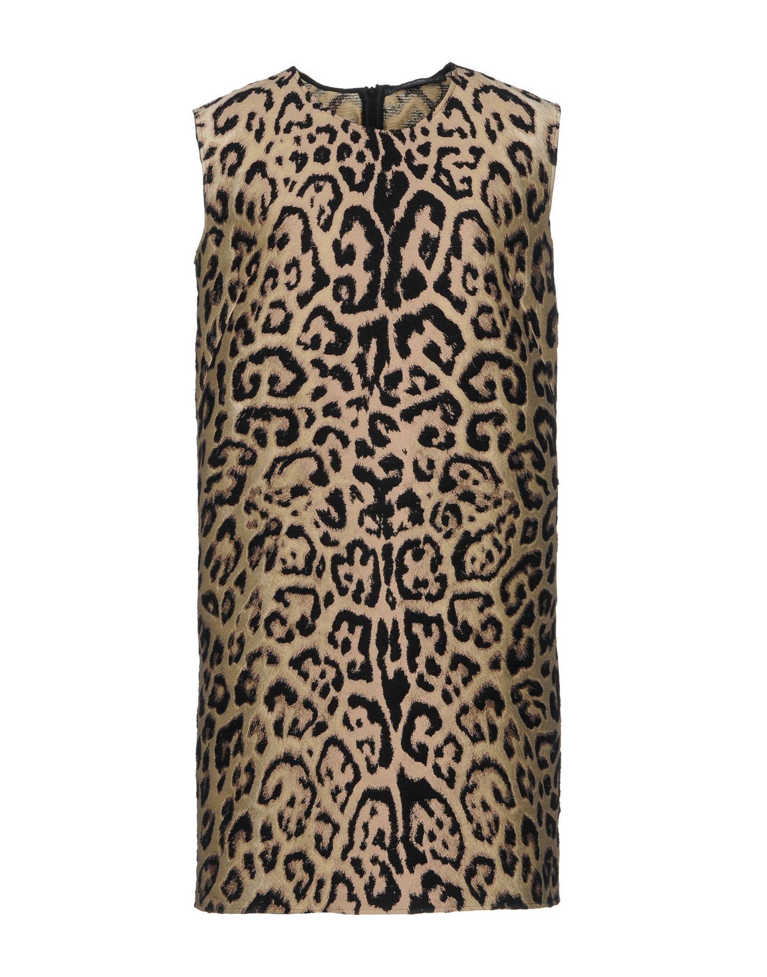 Ermanno Scervino Short Dresses In Beige