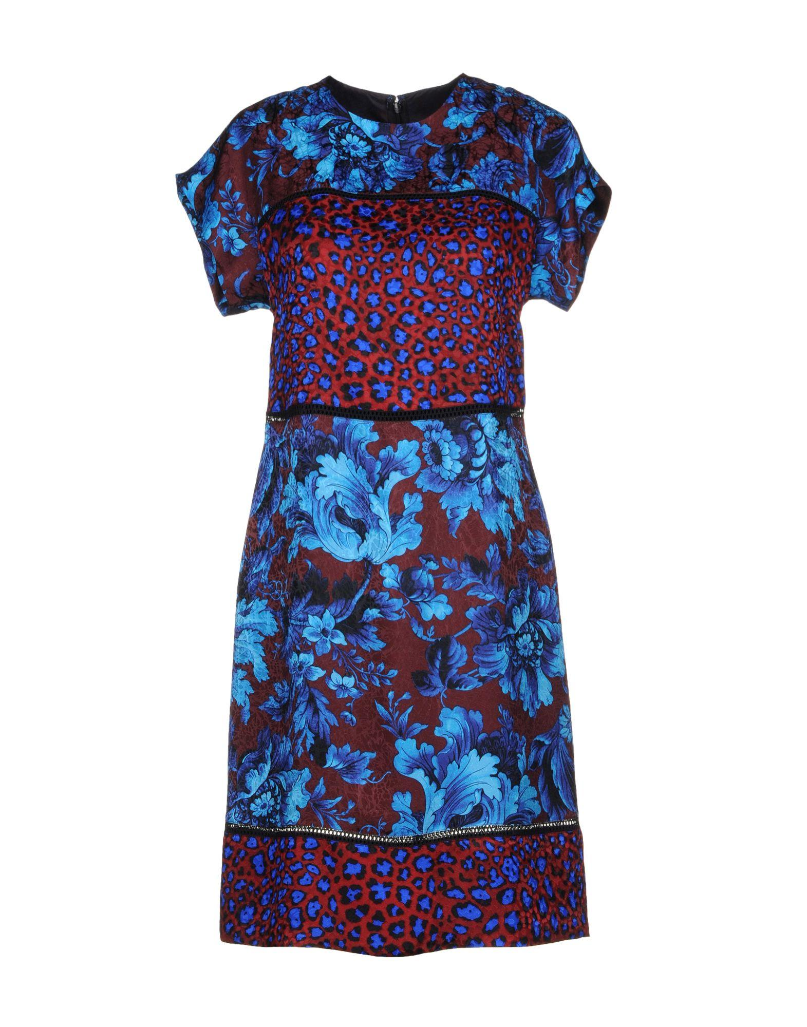 Paul Smith Short Dresses In Blue
