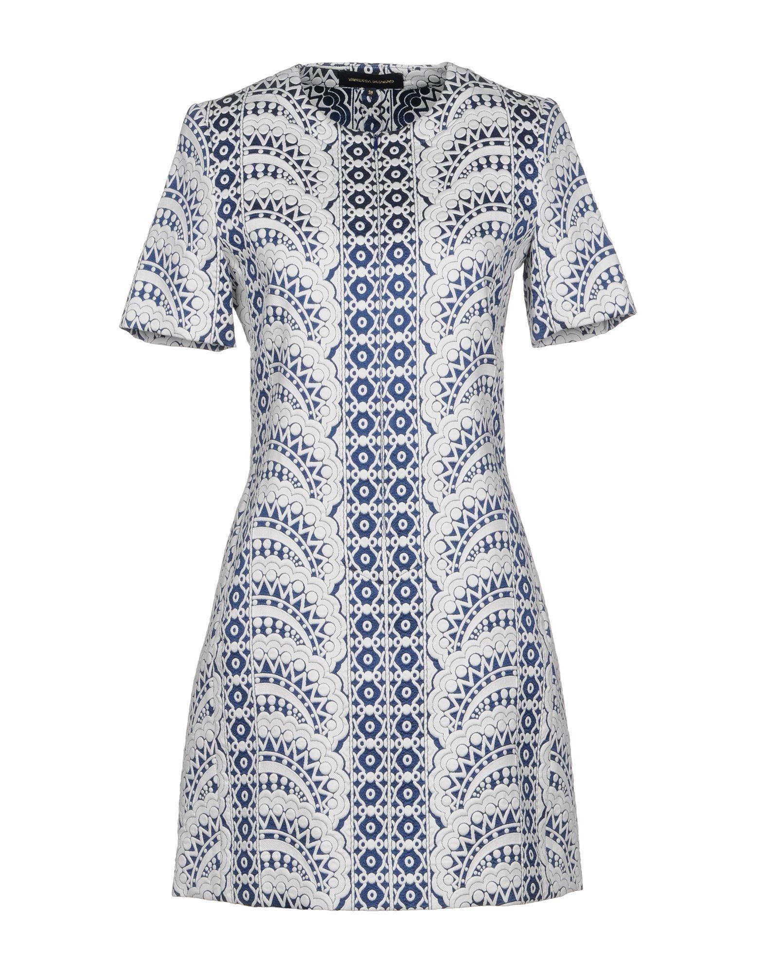 Vanessa Seward Short Dresses In White
