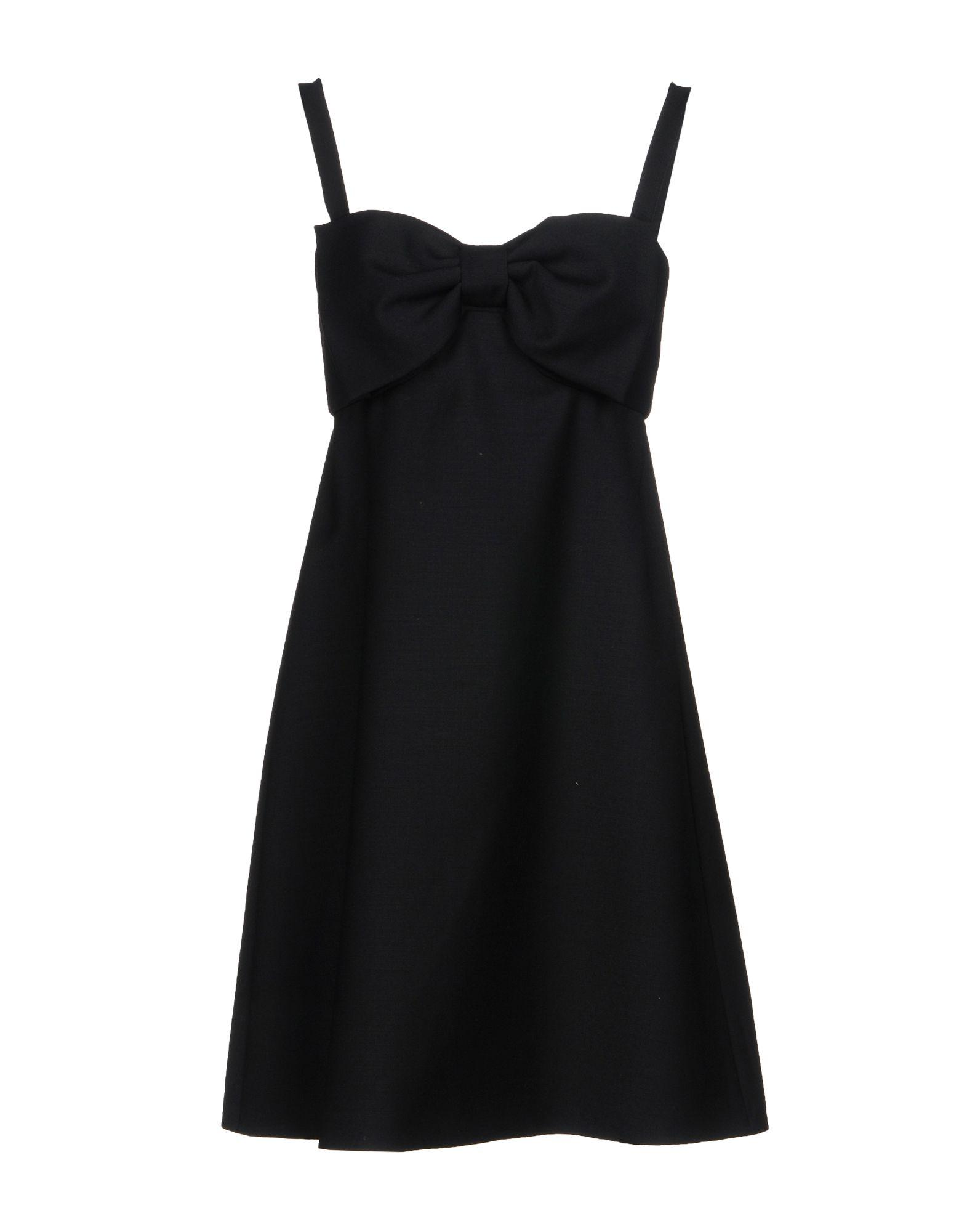 Boutique Moschino Short Dress In Black