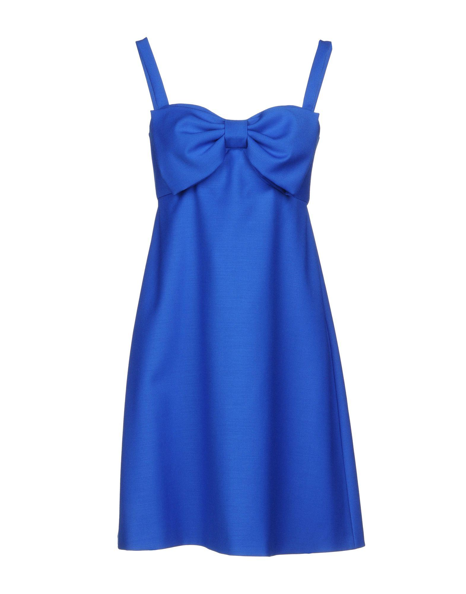 Boutique Moschino Short Dress In Blue