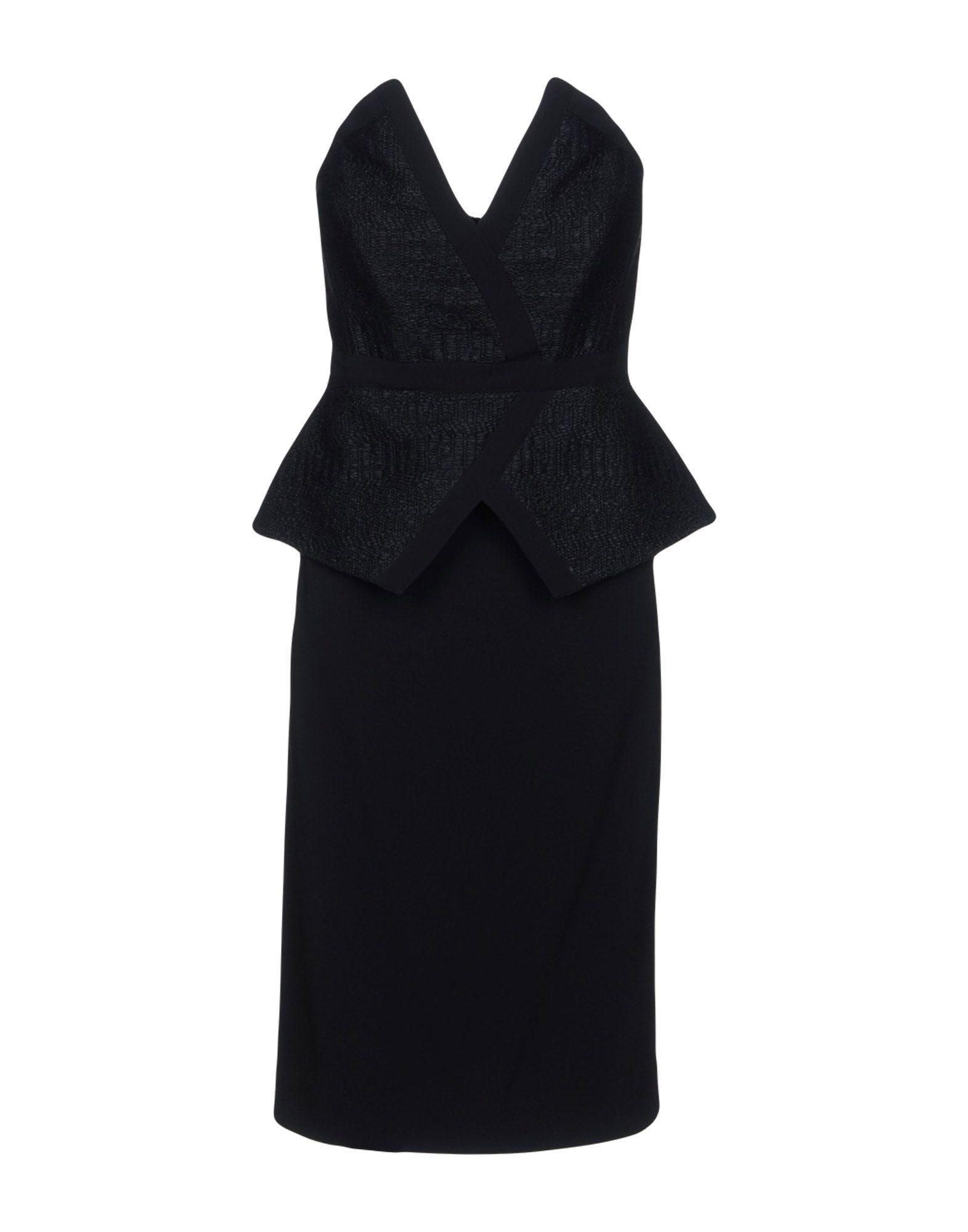 Tamara Mellon Short Dress In Black