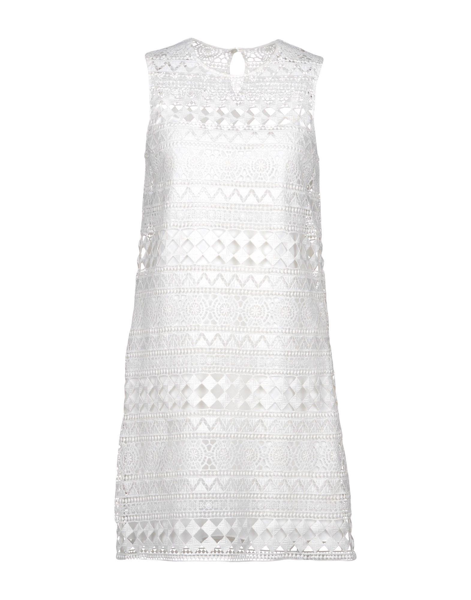 Philosophy Di Lorenzo Serafini Short Dress In White