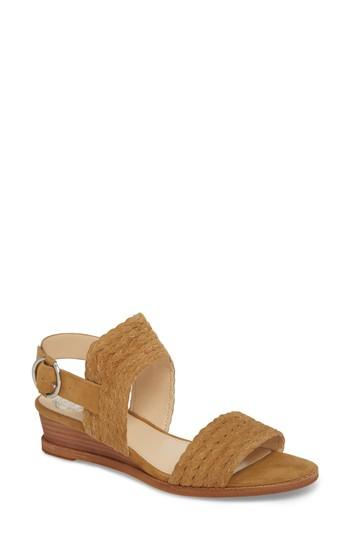 Vince Camuto Raner Sandal In Heartwood Suede