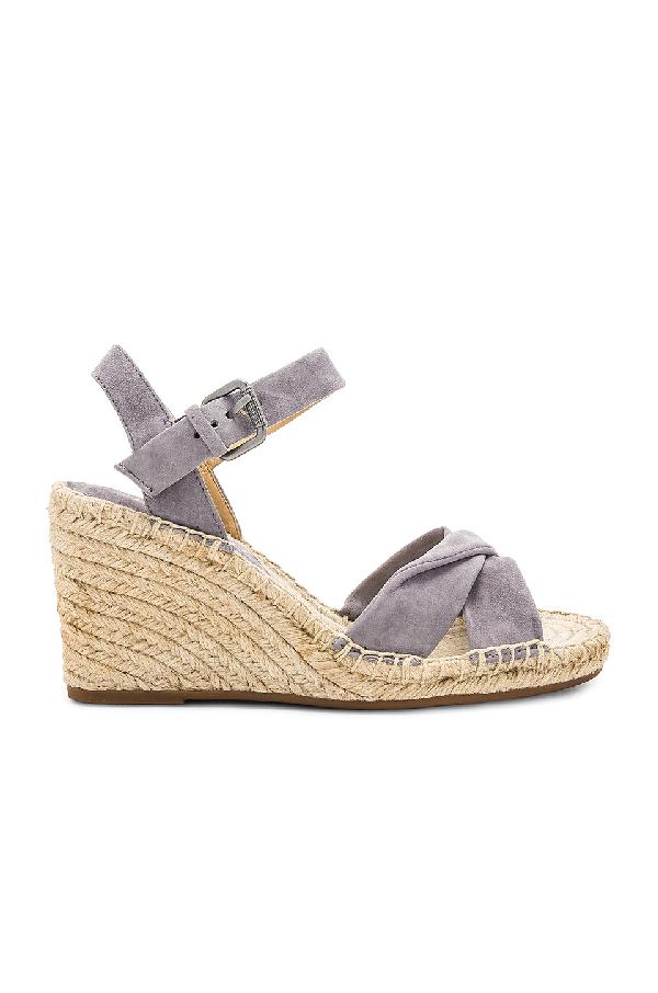 39a2d668d Splendid Fairfax Espadrille Wedge Sandal In Steel Grey | ModeSens