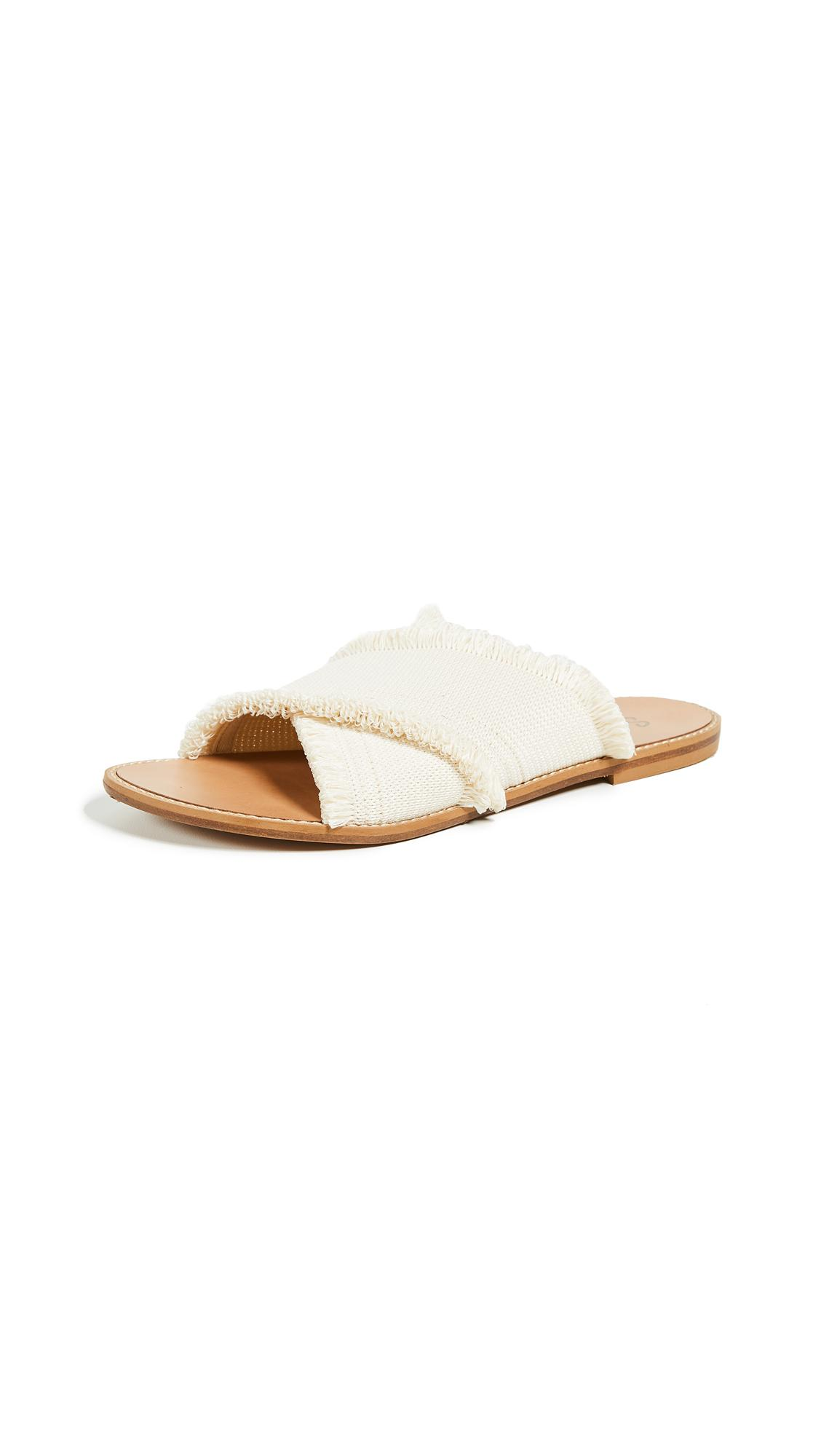 Splendid Women's Fulton Canvas Slide Sandals In Ivory
