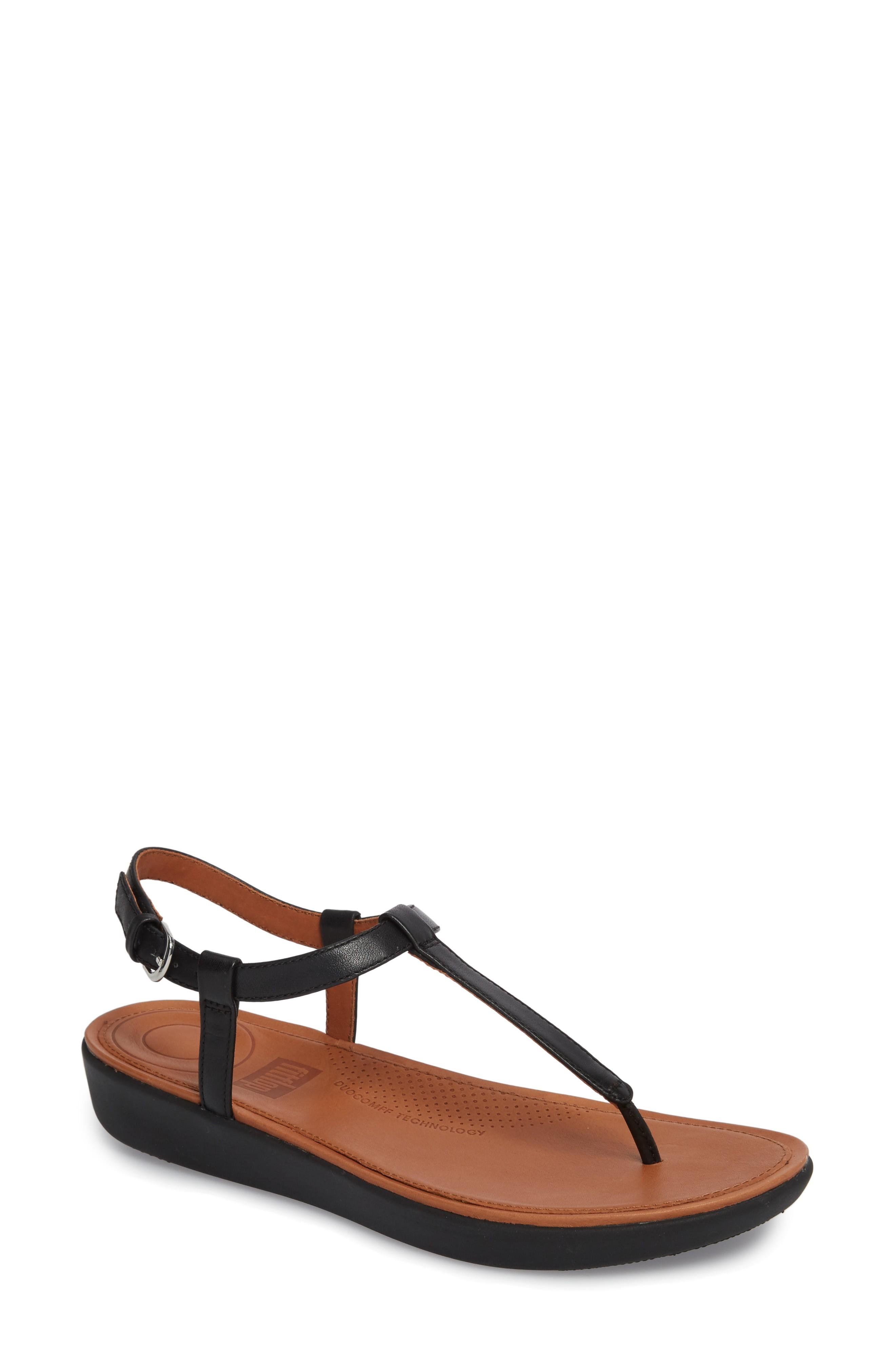 5ee072c8990e Fitflop Tia Thong Sandal In Black Leather
