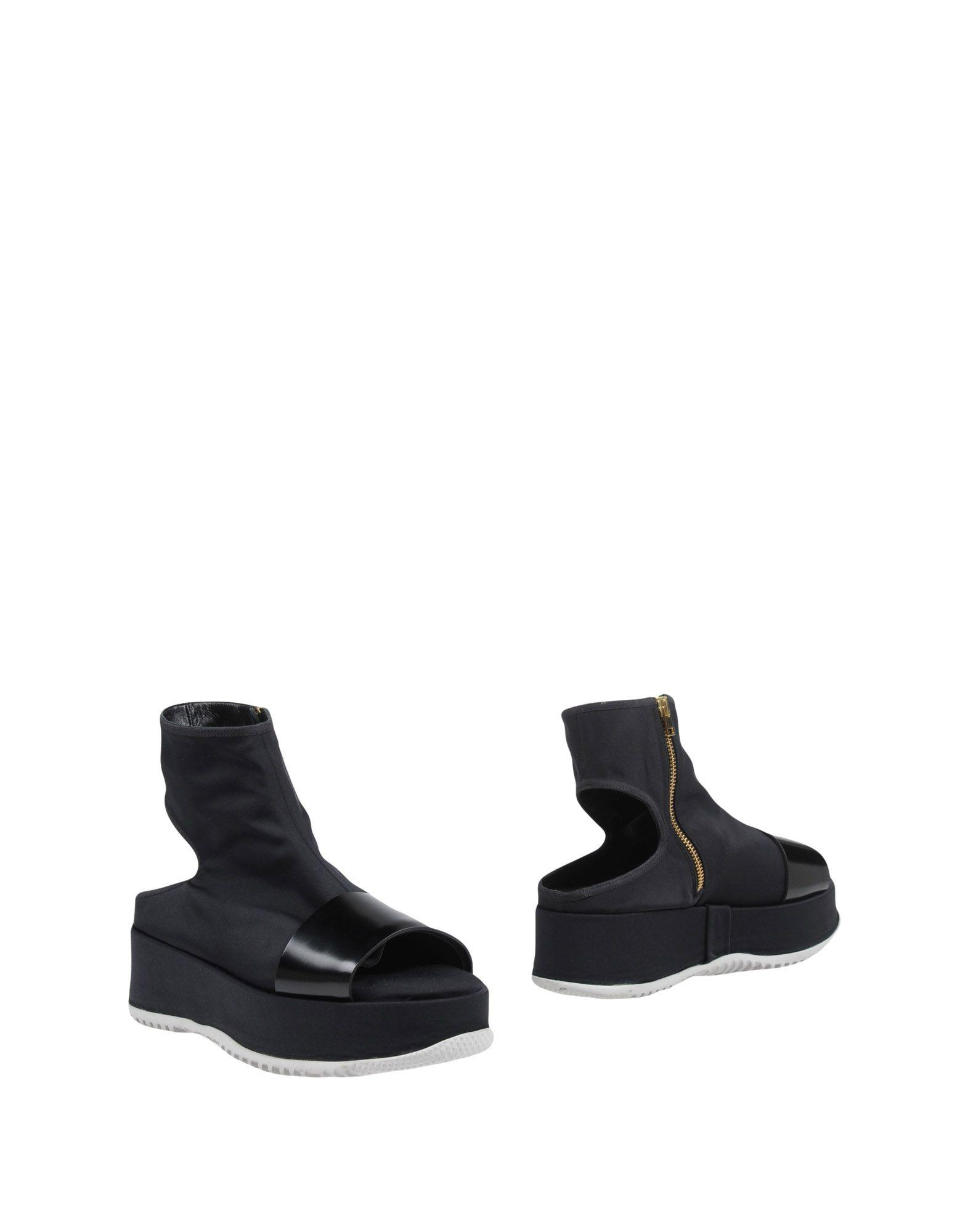 Marni Ankle Boots In Black