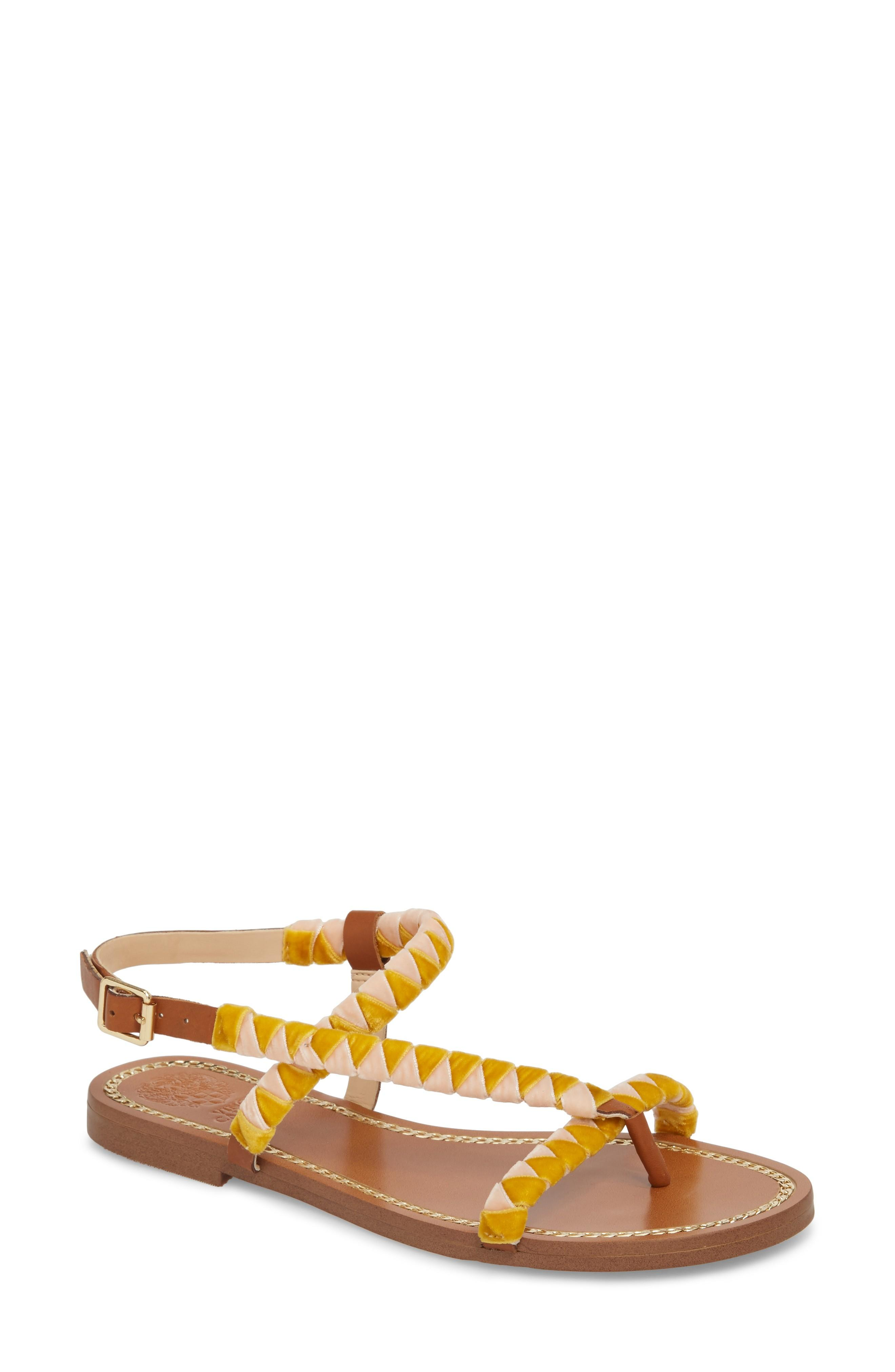 Vince Camuto Raminta Sandal In Red