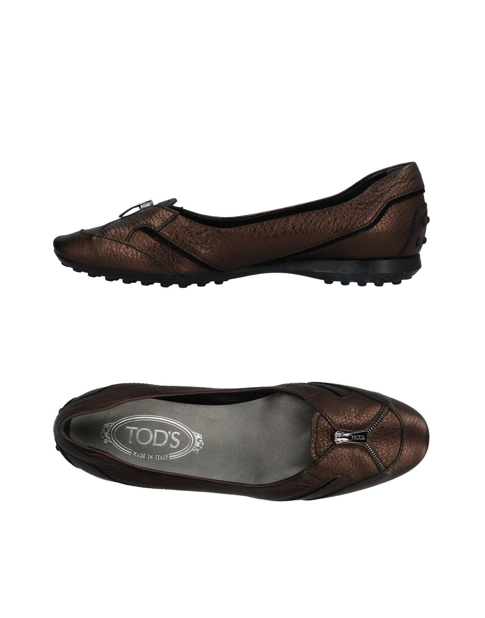 Tod's Ballet Flats In Cocoa