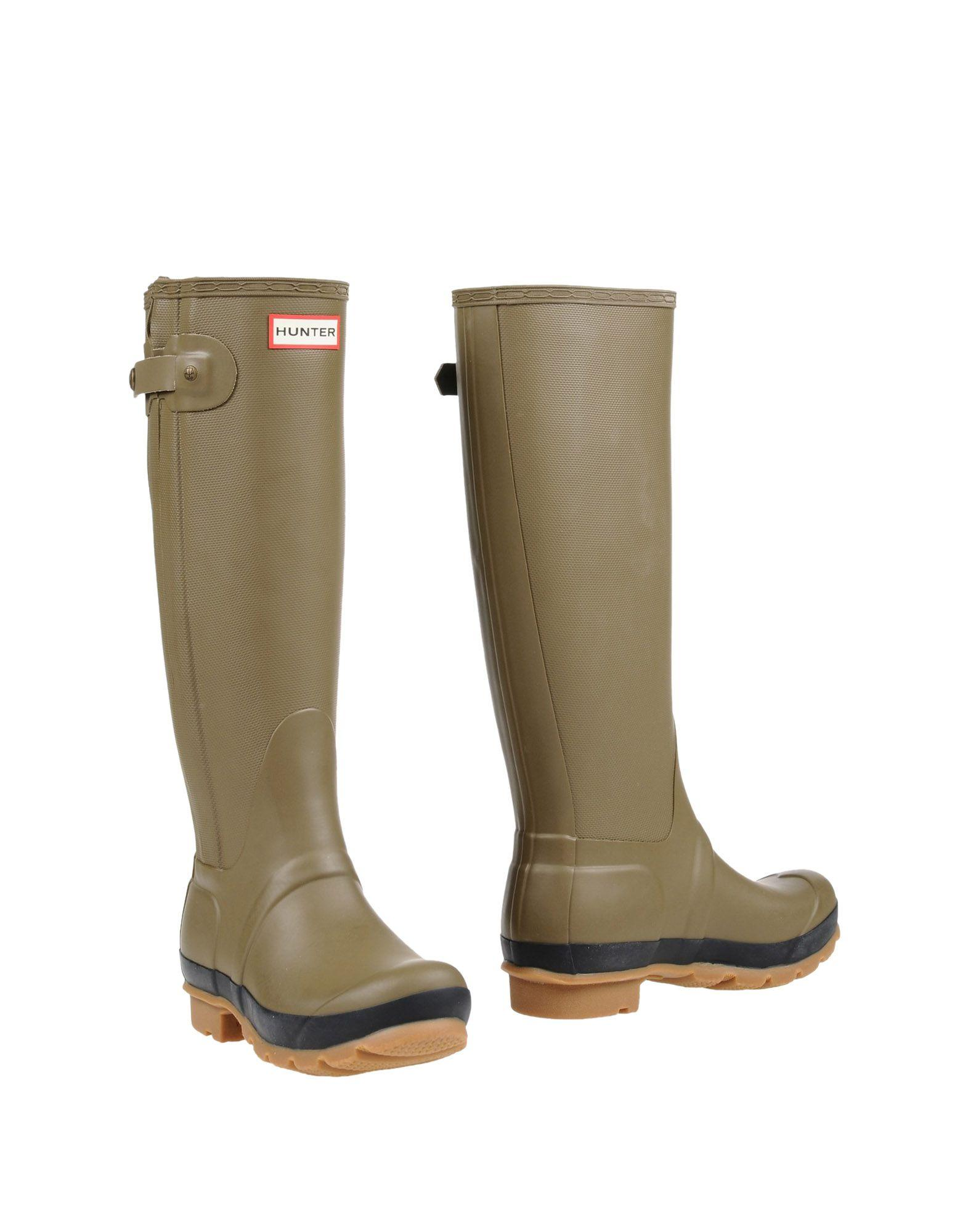 Hunter Boots In Military Green