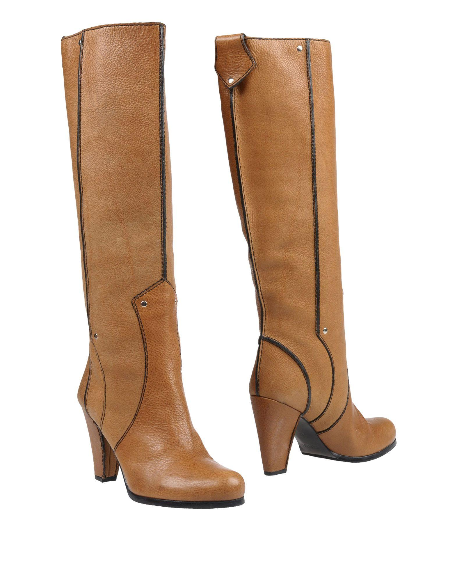 Kenzo Boots In Camel
