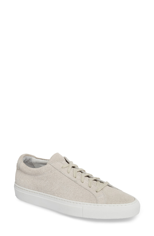 Common Projects Original Achilles Low Sneaker In Light Grey