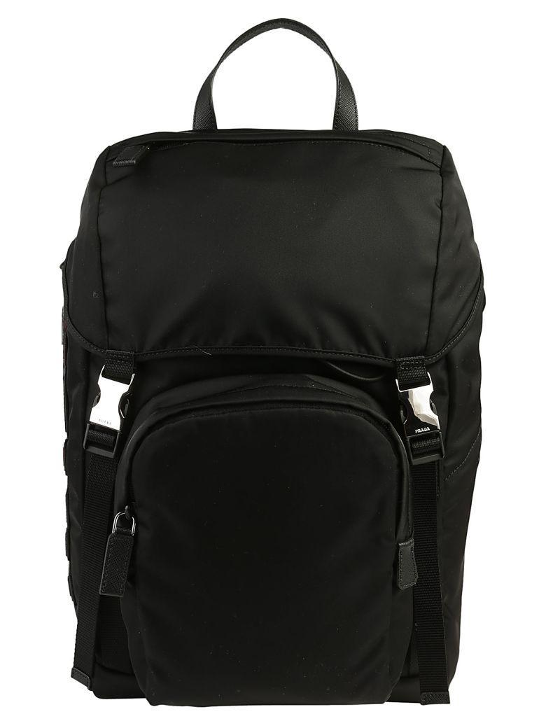 Prada Backpack In Nero M