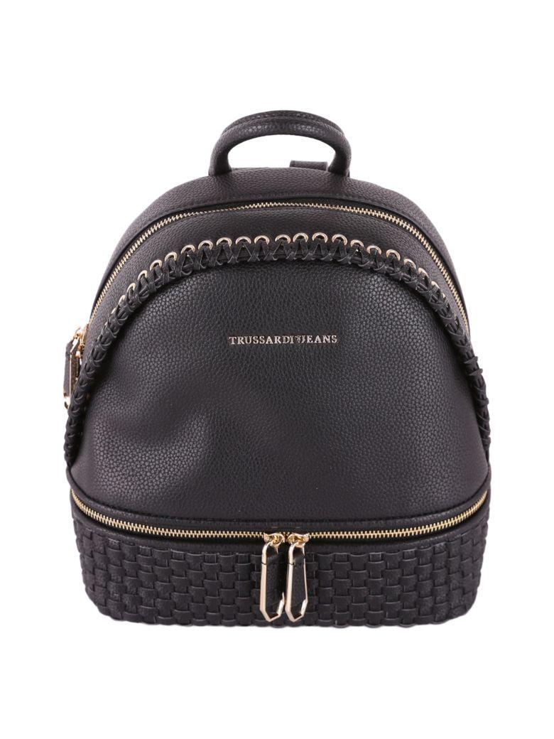 Trussardi Mimosa Backpack In Black