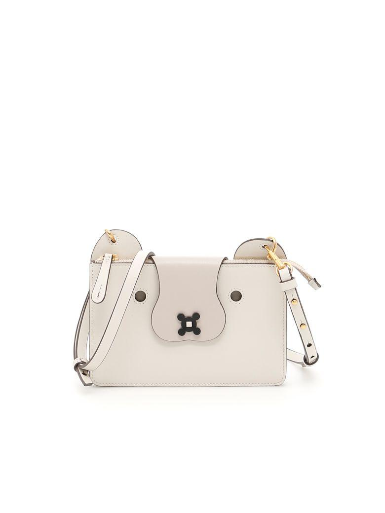 Anya Hindmarch Husky Crossbody Bag In Chalk Circusbeige
