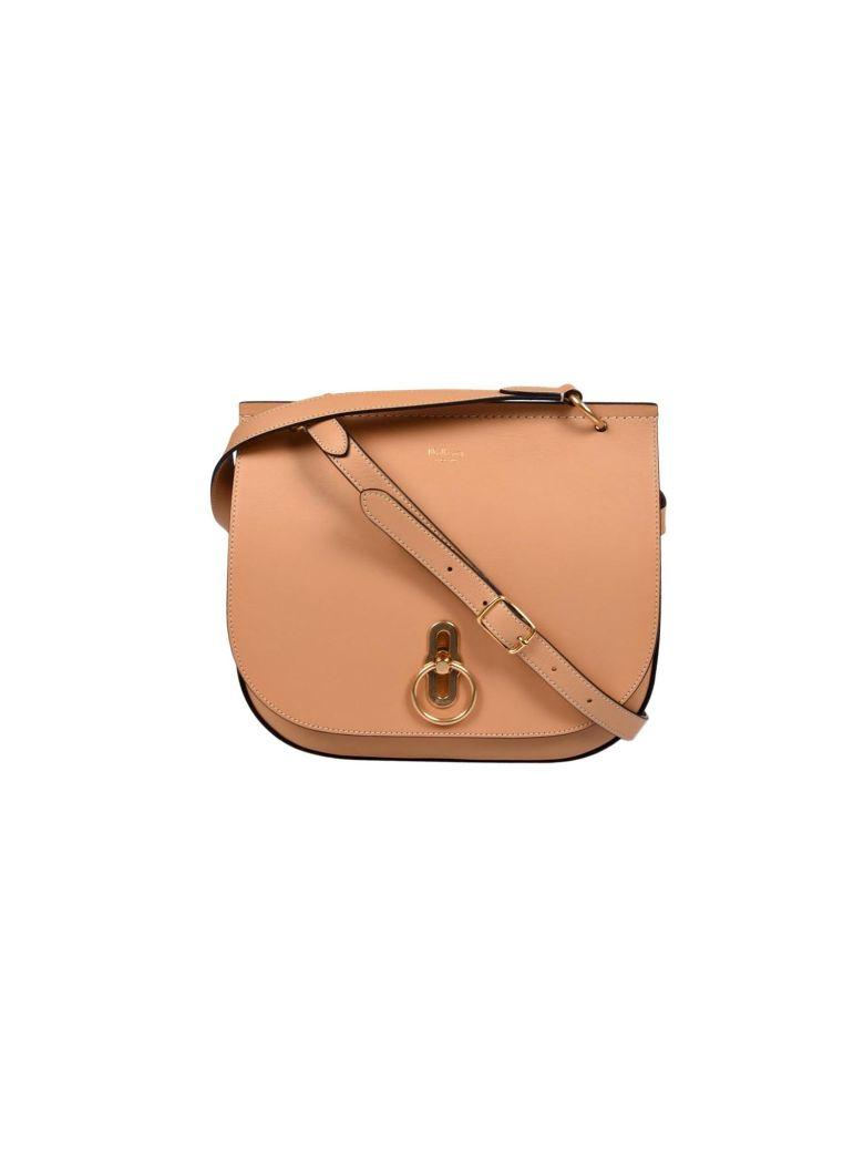 Mulberry Amberly Shoulder Bag In Pdark Golden Yellow