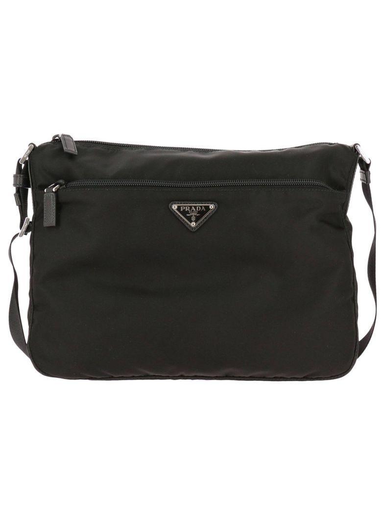 Prada Crossbody Bags Shoulder Bag Women  In Black