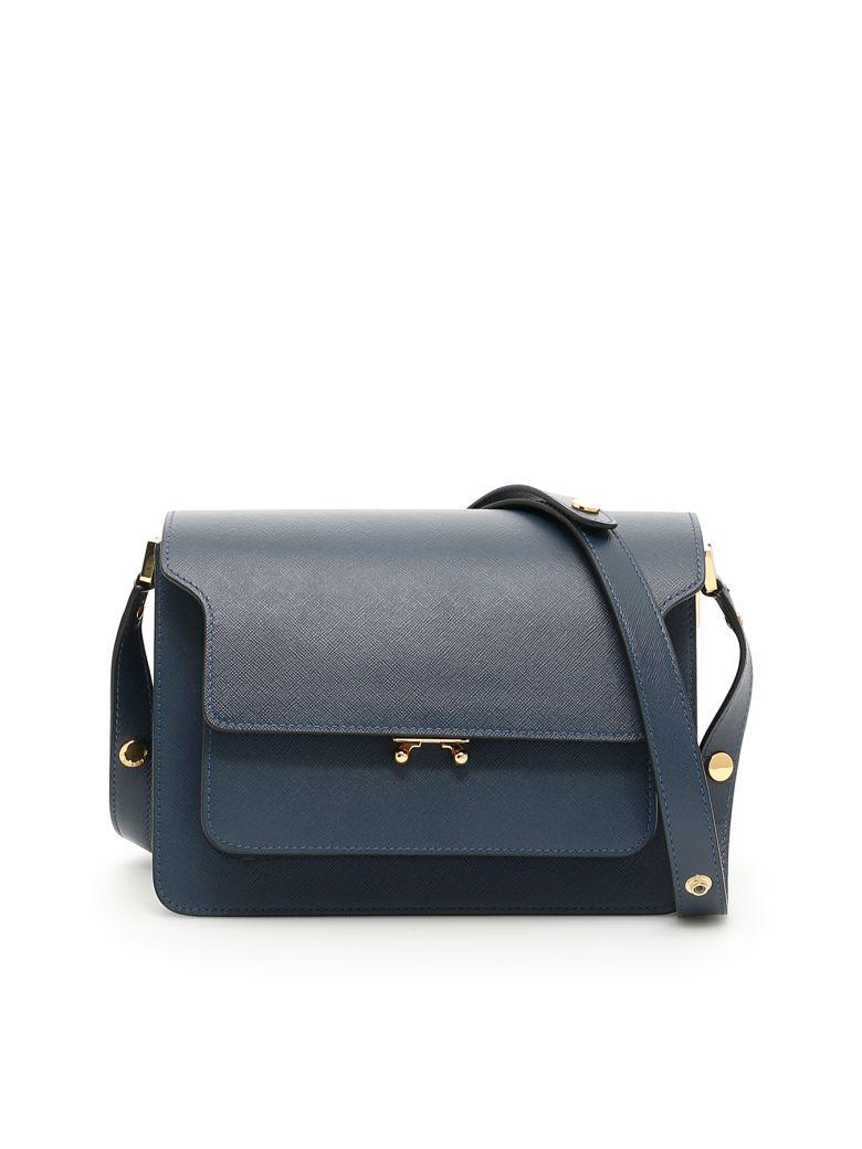 Marni Trunk Bag In Orion Blueblu