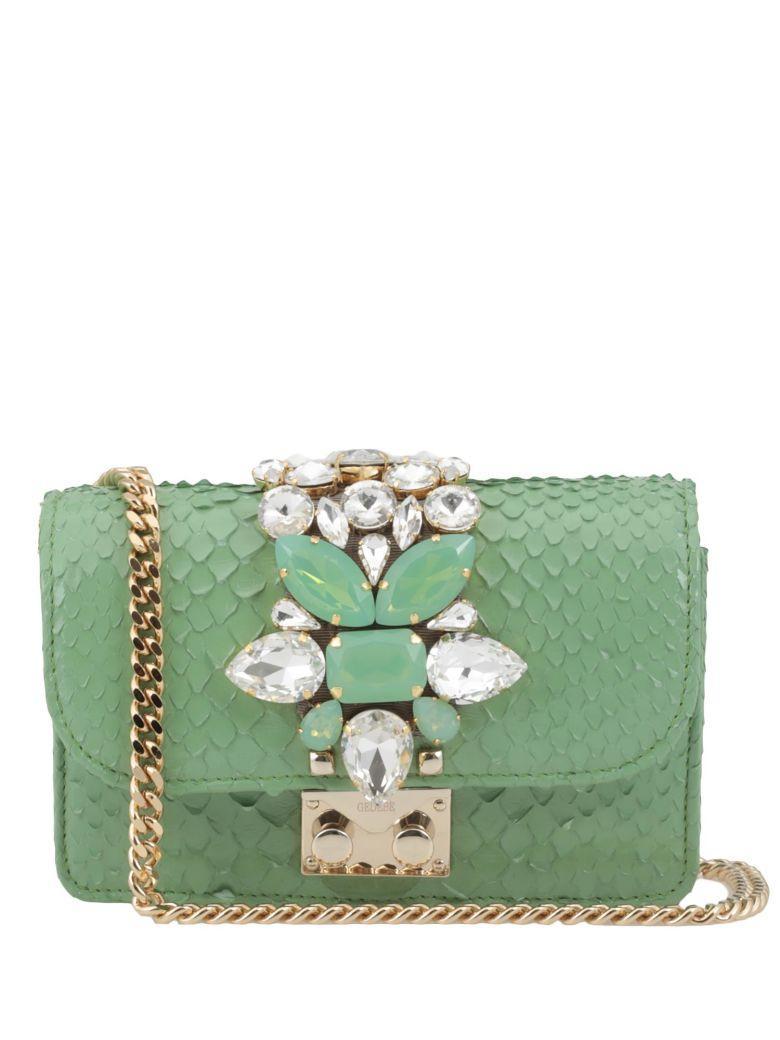 Gedebe Mini Cliky Bag In Green