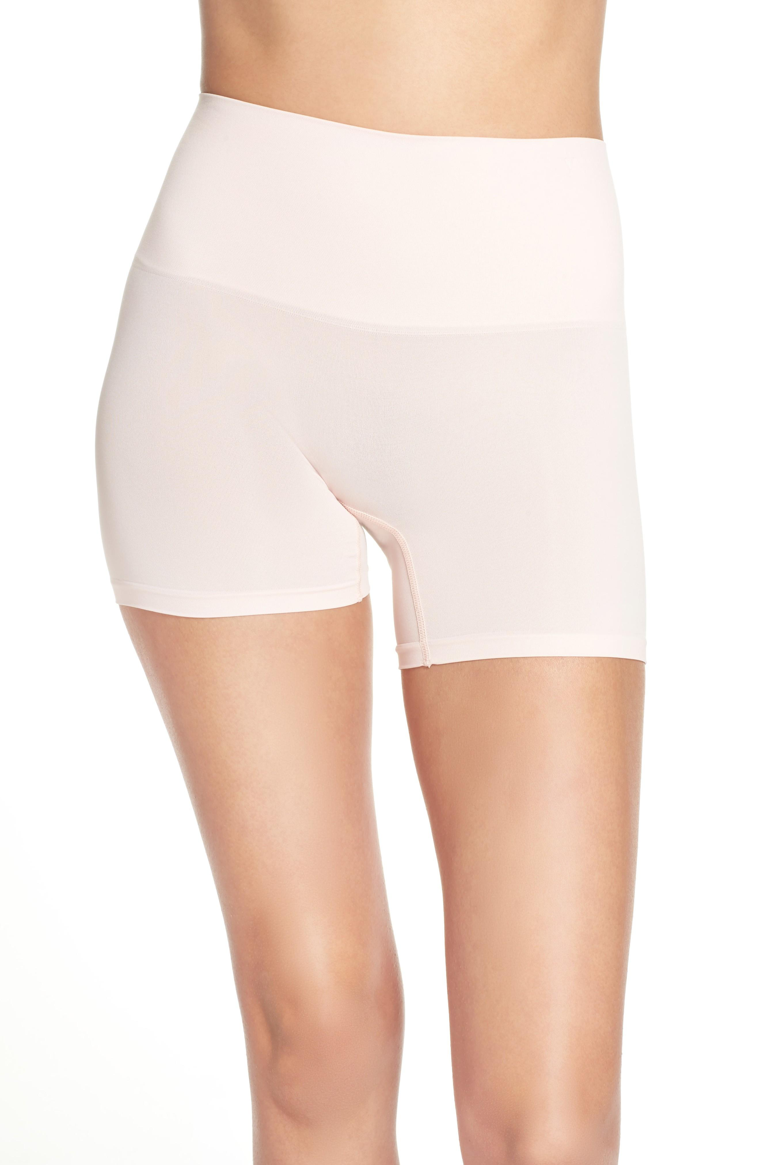 Yummie Ultralight Seamless Shaping Shorts In English Rose