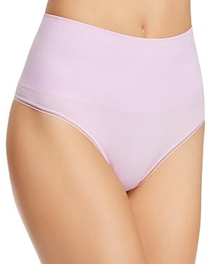 Yummie Ultralight Seamless Shaping Thong In Orchid Bouquet