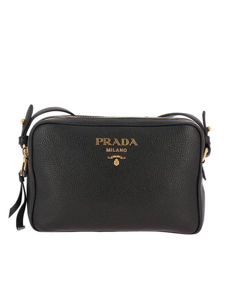 Prada Mini Bag Shoulder Bag Women  In Black