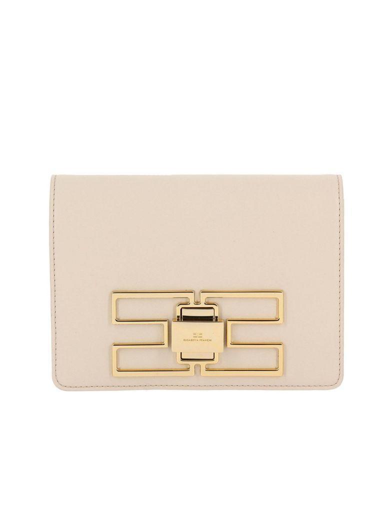 Elisabetta Franchi Celyn B. Mini Bag Shoulder Bag Women Elisabetta Franchi In Yellow Cream