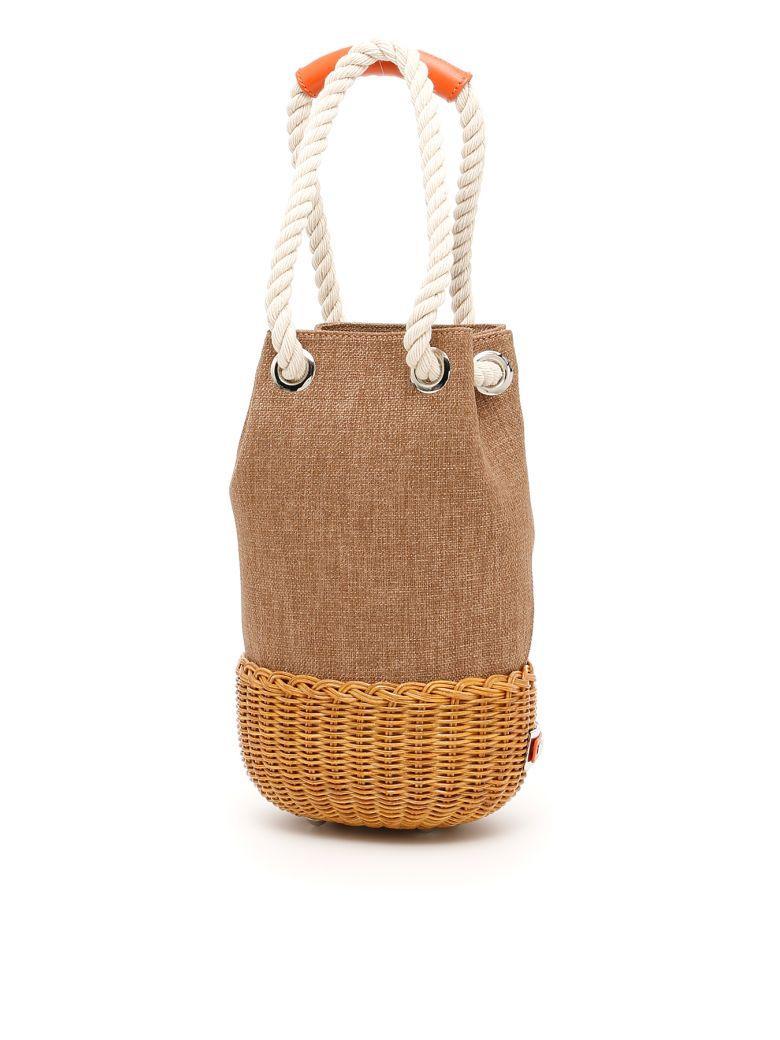 Rodo Bucket Bag In Tobacco (brown)