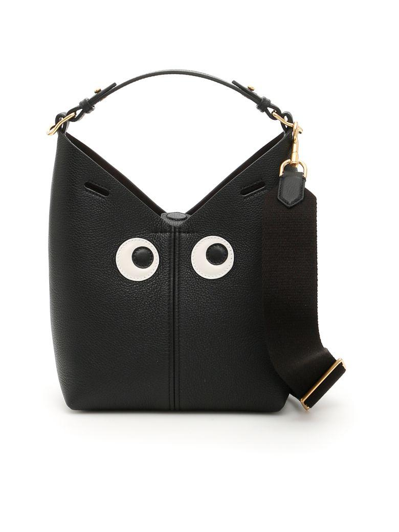 Anya Hindmarch Mini Build A Bag In Blacknero