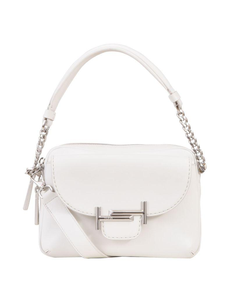 Tod's Doublet Camera Bag In White